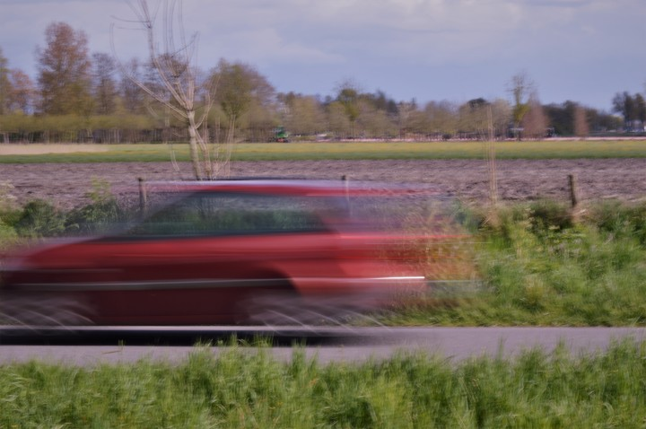 bewegende auto