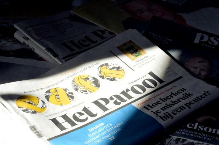 16 maar geen krant mogenlezen?!