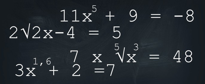 machten en wortels wiskunde